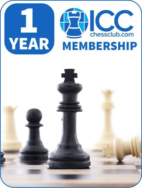 1 Year Membership MAGNUS CARLSEN WINS