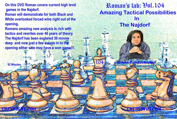 Roman's Lab Vol 104: Amazing Tactical Possibilities in The Najdorf