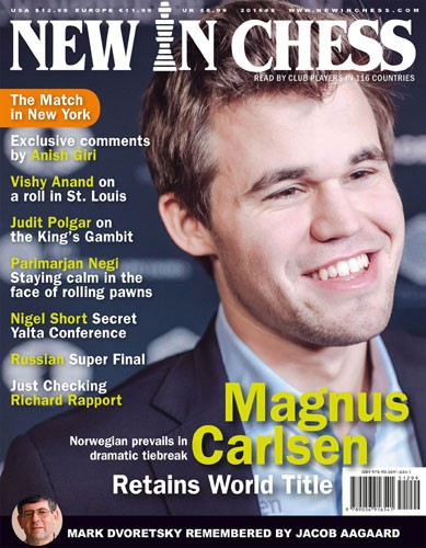 New in Chess Magazine (1 year subscription)