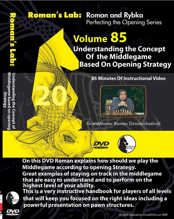 Roman's Lab Vol 85: Understanding the Concept of Middlegame based on Opening Strategy