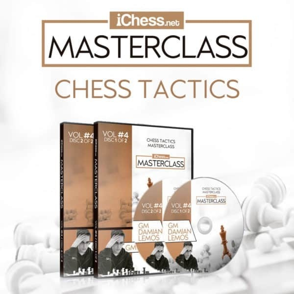 Chess Tactics Masterclass – GM Damian Lemos