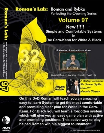Roman's Lab Vol 97: New Systems in Caro-Kann for White & Black