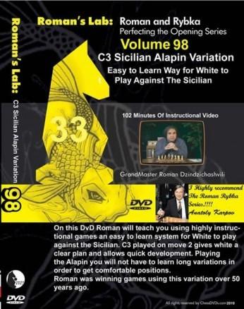 Roman's Lab Vol 98: C3 Sicilian Alapin Variation