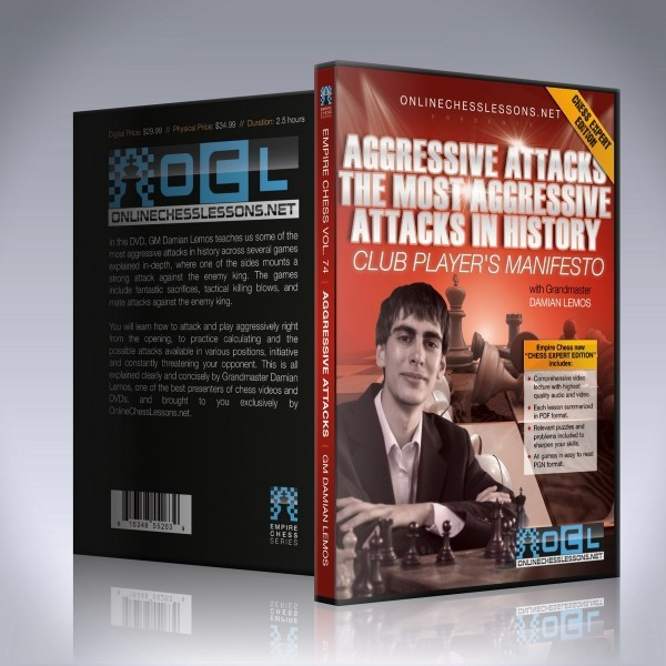 Aggressive Attacks: The Most Aggressive Attacks in History – GM Damian Lemos
