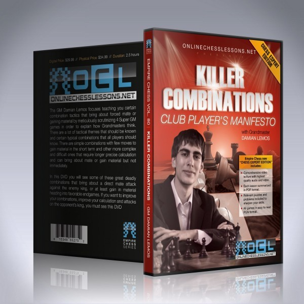 Killer Combinations – GM Damian Lemos