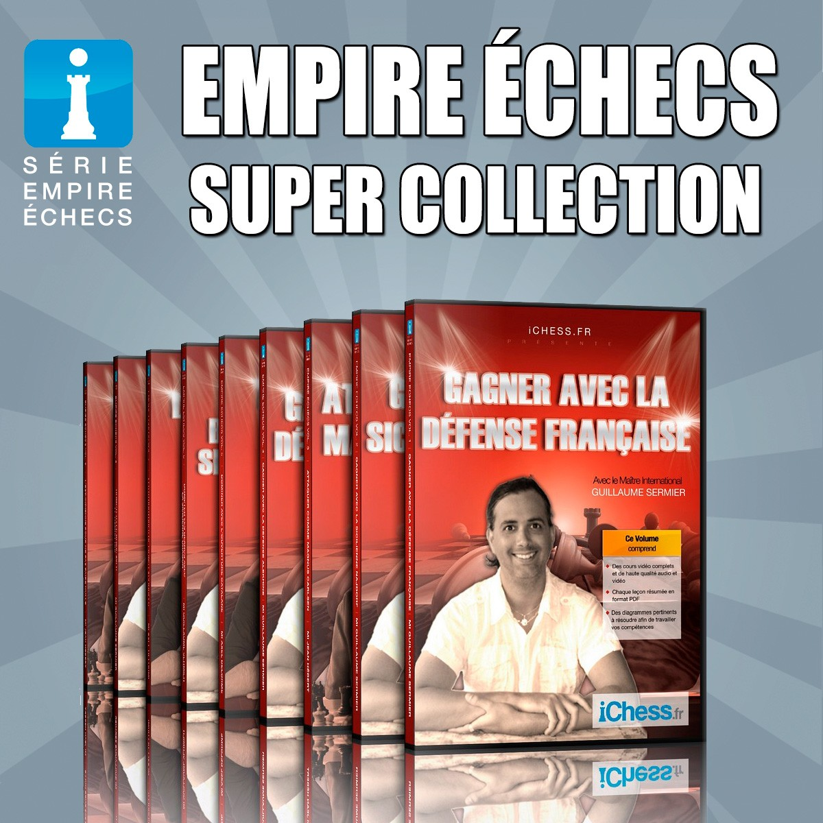 Collection Empire Échecs Vol. 1-10