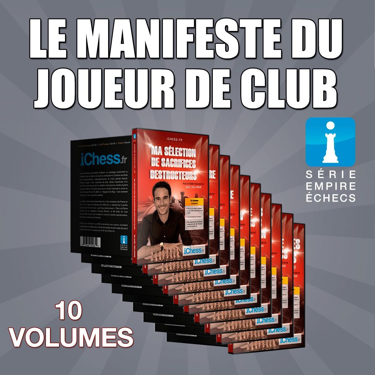 Le Manifeste du joueur de club – (Volumes 11-20)