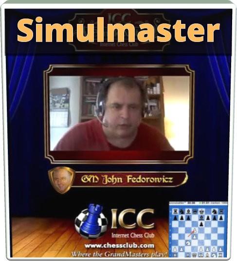 SimulMaster with GM John Fedorowicz