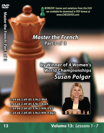 Susan Polgar - Mastering the French Part 3