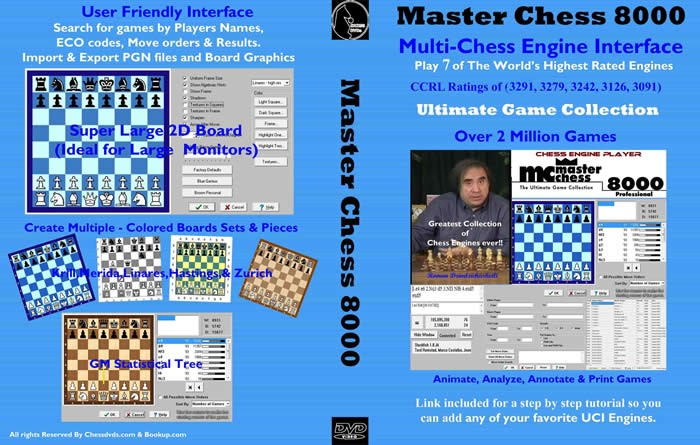 Master Chess 8000 - Internet Chess Club