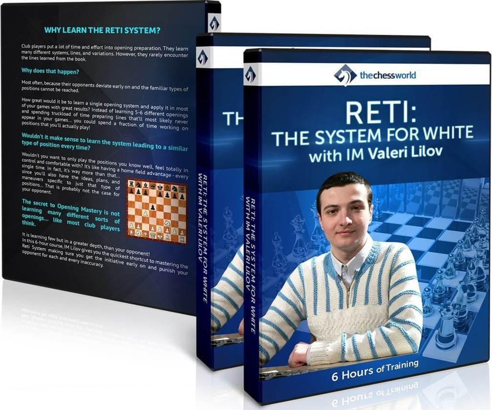 RETI THE SYSTEM FOR WHITE with IM Valeri Lilov