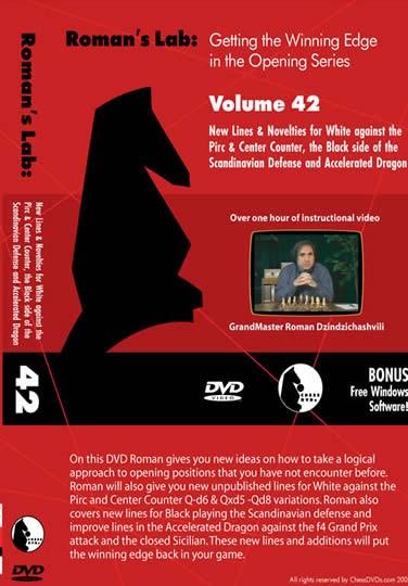 Roman's Lab Vol 42: New Lines  against the Pirc, Scandinavian & Dragon (over 1h)