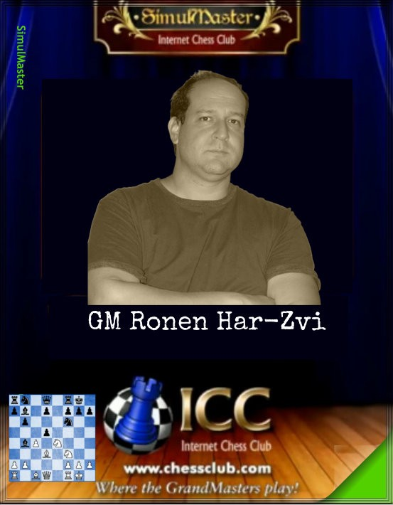 SimulMaster with GM Ronen Har-Zvi
