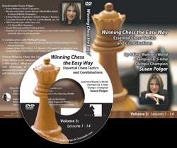 Winning Chess the Easy Way - Vol 3 (DVD)  -  Susan Polgar
