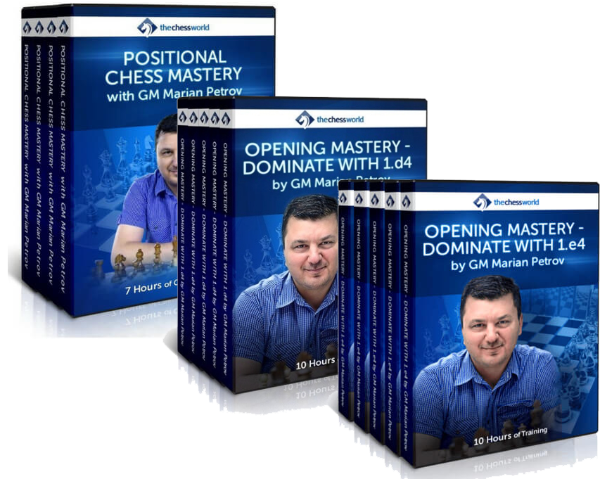 GM Petrov's TRIPLE PACK: Dominate with 1.d4 and 1.e4 and Opening and Positional Mastery
