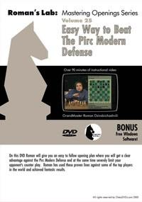 Roman's Lab Vol 25: Easy Way to Beat The Pirc Modern Defense (1h 30m)