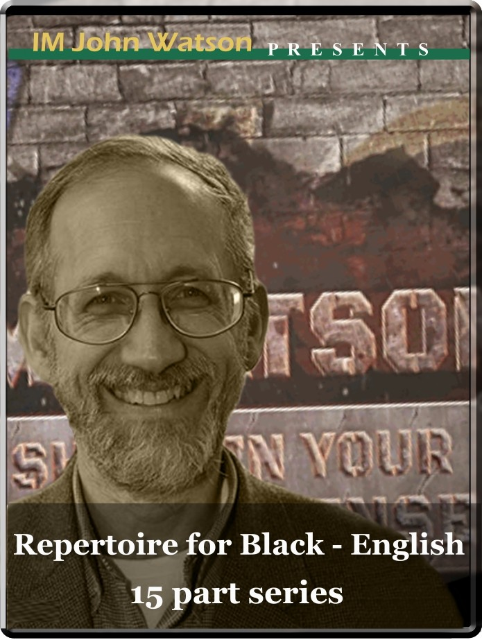 Repertoire for Black - English defense (15 part series)