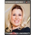 Polgar Chess University Intermediate Bundle
