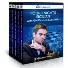 Four Knights Sicilian with GM Davorin Kuljasevic