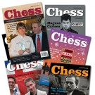 CHESS Magazine Special Offer - One Year Subscription for FIRST TIME SUBSCRIBERS ONLY - Rest of World