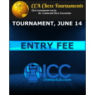 Entry Fee Continental Chess Association Tournament, June 14