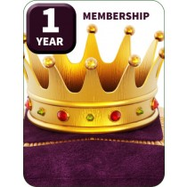 1 YEAR MEMBERSHIP! Let's Party Like it's 1999!