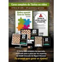 Curso completo de ajedrez de táctica