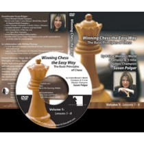 Winning Chess the Easy Way - Vol 2 (DVD)  -  Susan Polgar