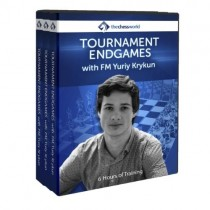 Tournament Endgames with FM Yuriy Krykun