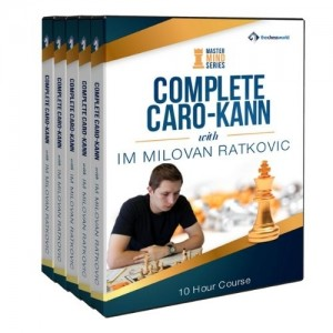 The Complete Caro-Kann Mastermind with IM Milovan Ratkovic