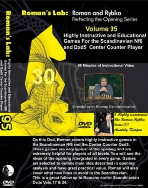 Roman's Lab Vol 95: Scandinavian Nf6 and Qxd5 Centre Counter Player
