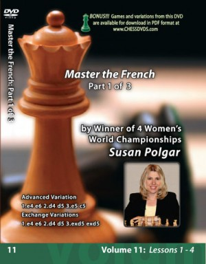 Susan Polgar - Mastering the French Part 1