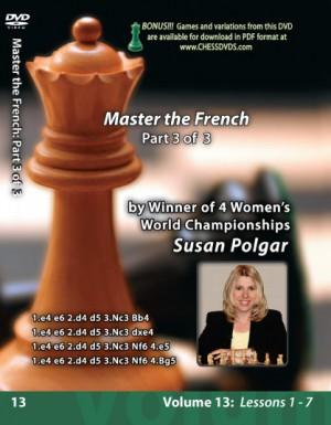 Susan Polgar - Mastering the French Part 3