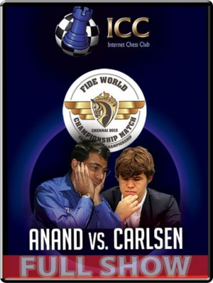World Chess Championship:  Anand vs. Carlsen!