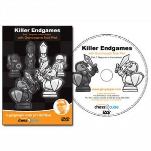 Killer Endgames  Part 1: Beginner to Intermediate - GM Nick Pert (DVD)