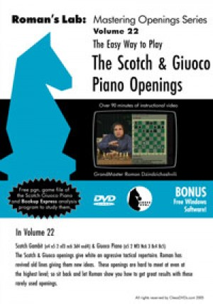 Roman's Lab Vol 22: The Scotch and Giuoco Piano (over 2h)