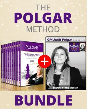 The Polgar method BUNDLE (The Susan and Judit Polgar bundles)