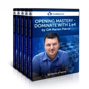 Opening Mastery – Dominate with1.e4 by GM Marian Petrov
