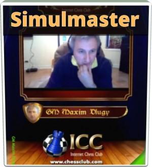 SimulMaster with GM Maxim Dlugy