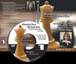 Winning Chess the Easy Way - Vol 1 (DVD)  -  Susan Polgar