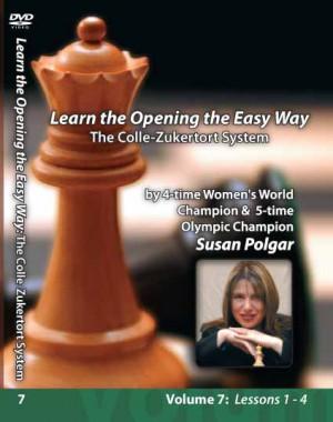Winning Chess the Easy Way - Vol 7 (DVD) - Susan Polgar