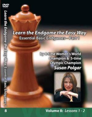 Winning Chess the Easy Way - Vol 8 (DVD) - Susan Polgar