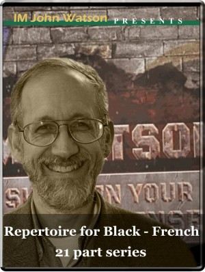 Repertoire for Black - The French (21 part series)