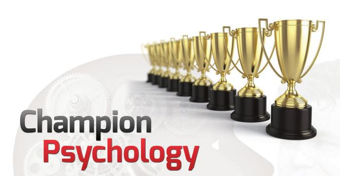 Champion Psychology chess book trophy