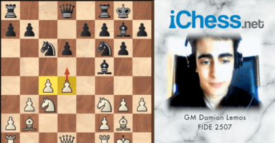 Double Fianchetto Chess Opening Gm Damian Lemos